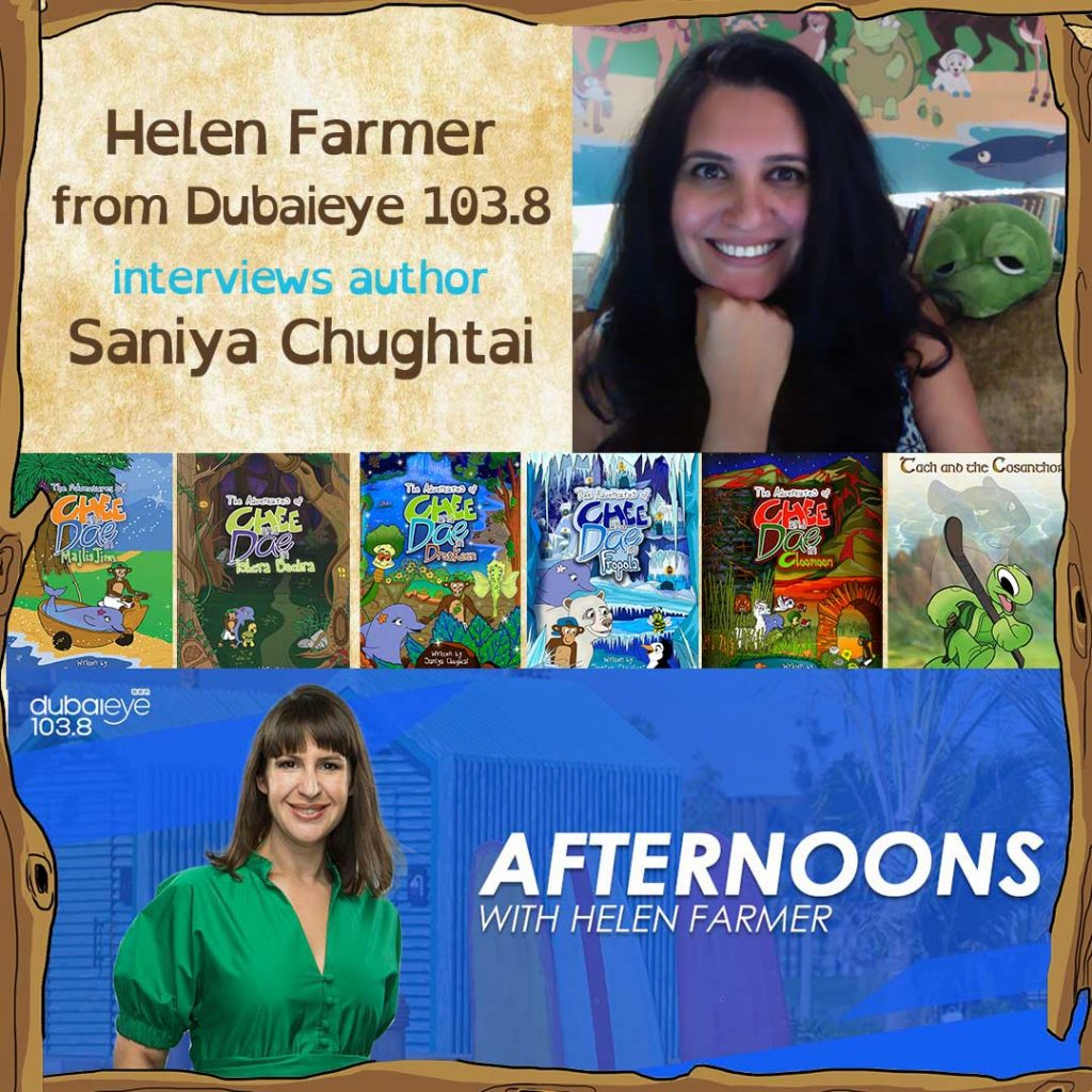 Helen Farmer interviews Saniya Chughtai
