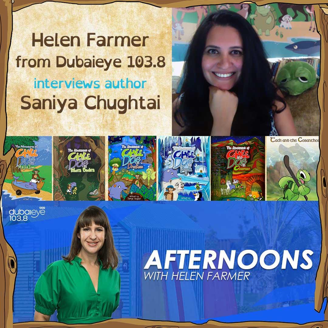 Helen Farmer interviews Saniya Chughtai